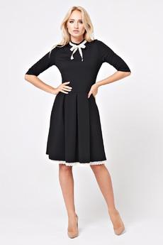 Черное платье в ученическом стиле Angela Ricci