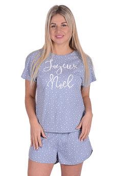 Пижама со звездами Трикотажница со скидкой